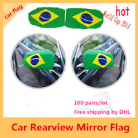 car mirror flag cover - 2015 Polartec Flying Real Hot Sale Ussr Armenia Flags By Dhl Pairs Brazil Rearview Car Mirror Flag Cover