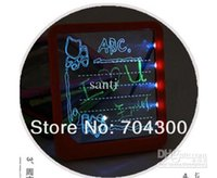 led led message - Super Bright LED Lights writing board Romantic LED Illuminated Led Message Board