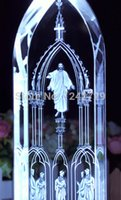 Wholesale Grow Your Own Jesus Crystal LED DIY Carve Characters