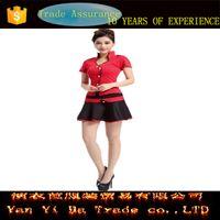 airline uniform design - New design airline uniform sexy women airline hostess stewardess uniformwith high quality