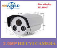 Wholesale Dahua chipset HDCVI camera P MP hikvision metal bullet case LED infrared night vision long IR distance CCTV store security camera