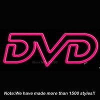 advertising dvd - DVD Handcrafted Neon Light Sign Neon Bulbs Beer Bar Pub Store Display Decorate Real Glass Tube Handcraft Advertising x14