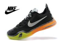 shoe stores - On Sale Nike Kobe X EM XDR Kobe KOBE X EP ZK10 Low Cut Basketball Leather Mens Shoes Big Discount Factory Store