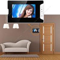 Wholesale Wired inch TFT LCD Video Door Phone Doorbell Home Security IR Camera Monitor