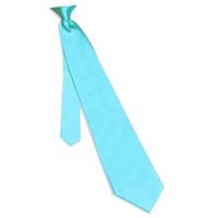 Aqua Blue aqua necktie - Aqua Blue Fashion quot width Solid Color Mens Tie Wedding Party Formal Satin Necktie Plain KT