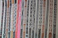 western rhinestone belts - pieces Women Bling Western Rhinestone Cowboy Leather Jeans Belt Mix Colors in Stock