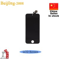 Cheap B Quality Front LCD Screen for iPhone 5 5G LCD Display Screen Assembly & Touch Panel Digitizer Complete Replacement