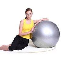 Wholesale Yoga Ball Thick Explosion Proof Massage Ball Bouncing Ball Gymnastic Exercise Yoga Balance Ball CM Colors via DHL