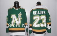 bellows china - Factory Outlet Customer good quality evaluation brand china sport jerseys men s cheap Hockey Dallas Stars BELLOWS GREEN vintag