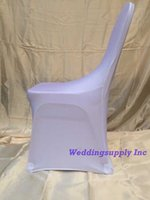 Wholesale Lycra Chair Covers White Wedding Chair Cover