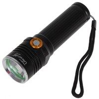 Wholesale 1X CREE XM L U2 Led Waterproof LM Modes Torch Flashlight Practical AF