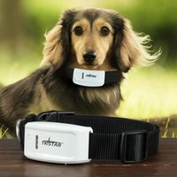 Wholesale TK STAR Smart IPHONE Android Phones APP Tracking Real time GSM GPS Pet Tracker w Dog Electronic Fence US Plug