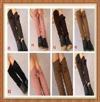 thigh cuffs - Womens Crochet Down Boot Cuffs boot socks thigh socks leg warmer stocking foot socks Leggings foot cover socks knee high socks S500