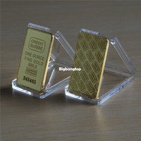 gold bullion - 1509 CREDIT SUISSE oz ct Gold Plated Layered Bullion Bar Ingot Replica coin Switzerland Fake Gold Bar