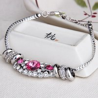 arts bracelet original - Original art new jewelry factory direct selling Korean fashion custom crystal bracelet