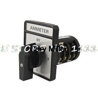ammeter switch - Square Plate Ammeter Cam Rotary Selector Switch C178 A order lt no track