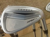 Wholesale Apex Pro Forged Irons Golf Forged Irons OEM Golf Clubs PAw Regular Stiff Steel Shaft With Head Cover DHL FREE SHIP