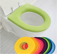 Cheap Bathroom Warmer Toilet Cloth Washable Seat Cover Pads