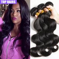 Wholesale Cheap Wholesale Products Free Shipping - 7A Grade Peruvian Body Wave Alimice Hair Products 3pcs Lot 100 Human Hair Cheap Peruvian Virgin Hair Body Wave Free Shipping