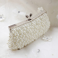 best cheap handbags - 2015 Best Selling Full Of Pearl Bead Beautiful Bridal Handbags Chain Shoulder Bag For Evening Prom Party High Quality Cheap