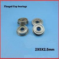 Wholesale 5PCS flange bushing ball bearings MF52ZZ bearing mm
