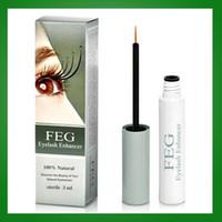 Wholesale FEG eyelash growth liquid in days FEG original Approved by FDA for Growth of Lashes make eyelashes longer thicker fuller