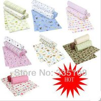 Wholesale cotton flannel baby blankets cotton blanket Cotton Shawl Blanket Receiving Toddler Blankets Air Baby Towel