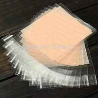 Cheap 10pcs Clear French alphabet Cellophane Cookie Candy Bags Christmas Birthday Party DIY Plastic Biscuits Bakery Gift Packing Bag
