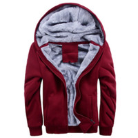 designer jackets for men - Winter Coats For Men Fur Lined Hoodie Men s Designer Fur Lined Plus Size M XXXL Jackets Sweaters casual cashmere arm LSH10