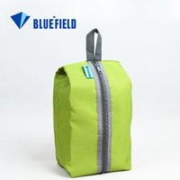 Wholesale BLUEFIELD Colors Waterproof Portable Travel Tote Toiletries Laundry Shoe Pouch Storage Shoes Bag HW064 order lt no trackin