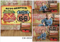 auto paint service - 5X7FT AUTO SERVICE Route Photography Vinyl Background For Photos Children Theme Backdrop Studio Backgrounds Senior Digital Backdrop
