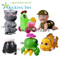 Wholesale Best Selling Reptiles Reptiles clockwork toys children s educational toys on the chain Happy Toy Gift