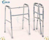 Wholesale Folding Walking Frame Lightweight Walker Mobility Aid Zimmer Disability Portable Disabled Aid walk assist