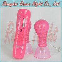 Wholesale BAILE Chest Stimulation Chest Pump Speed Vibe Ultimate Speed Vibrating Nipple Pumps Sex Toys for Women Sexual Wellness
