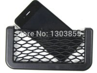 Wholesale Auto Car Seat Side Back Storage Nets Bag Phone holder Pocket Organizer CA