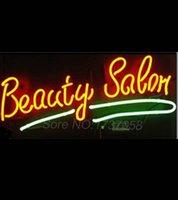 beauty salon neon signs - Beauty Salon Neon Sign Avize Neon Nikke Air Jorrdan Neon Signs Real Glass Tube Custom LOGO Lamp Free Design Handicraft