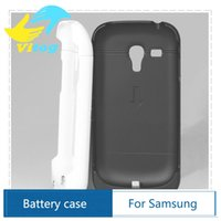 Cheap Power Charger case For samsung I8190 Phone Case S3 mini Battery External Pack Plus Portable Backup Protect power bank phonecase