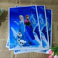 christmas box - Fashion Christmas gift bag frozen Elsa Anna Pricess loot bags box plastic shopping souvenir bag packing package party decoration
