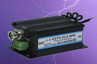 Wholesale AC220V AC24V DC12V Triad lightning protection device Combined arrester Analog video monitoring lightning protection device