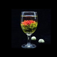 Wholesale 2015 Balls Chinese Handmade Different Blooming Flower Green Tea T1