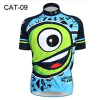 Wholesale Novel Cycling Jerseys Newest Laughin Plane Cycling Tops Comfortable Bike Wear Cycling Clothing Short Sleeve Summer Cycling Jersey
