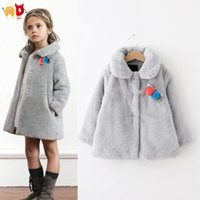 accessories ads - AD Fashion Faux Fur Coat for Baby Girls Fleece Thickening Outwear for Girls Winter Jacket Children s Clothing and Accessories