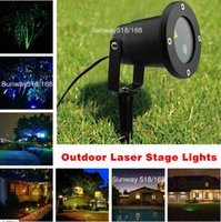 Wholesale laser projector christmas lights Waterproof Outdoor Christmas Lights Elf Laser Projector Red Green Moving lights Garden Sky Star Lawn Lamps