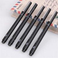 Wholesale Hot Sales Drawing Art Painting Fine Line Pens Black Waterproof Plastic Width CX216