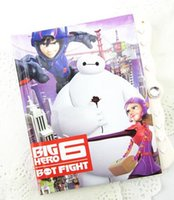 Wholesale 2015 baymax big hero beast corps notes notepad password notepad cartoon Password notebook Children gift JSB1