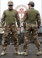 Wholesale Men Snake Camouflage Military Uniform Army SWAT Equipment Tactical Combat Airsoft Suit outdoor Hunting Coats Pants