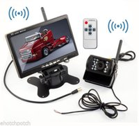 Wholesale 2015 HD GHz Wireless Car Monitor Inch TFT LCD Car Rear View Rearview Monitor Wireless Backup Reverse Camera