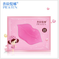 Wholesale PILATEN Face Care Facial Crystal Collagen Lip Mask Lip Care Moisture Anti ageing Wrinkle Patch Pad Gel