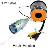 Wholesale Top Quality Fish Finder HD TVL Underwater Fishing Camera Ice Fishing Camera With M Long Cable WF01S W2097A30