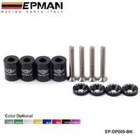 Wholesale Tansky EPMAN Racing quot BILLET HOOD VENT SPACER RISER KITS FOR ALL TURBO ENGINE MOTOR SWAP MM EP DP009